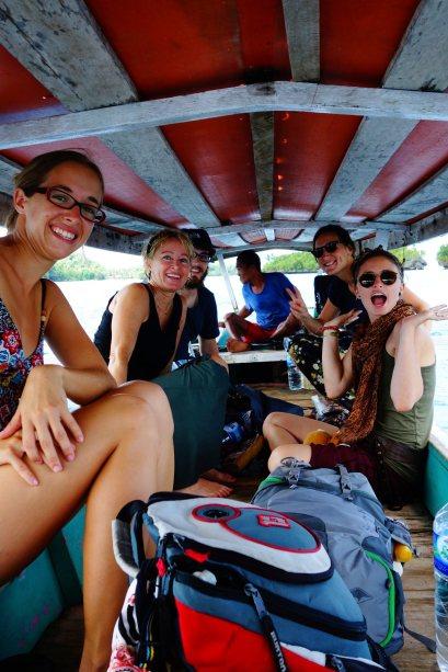 1 - notre barque de poyalisa jusqu'a wakai