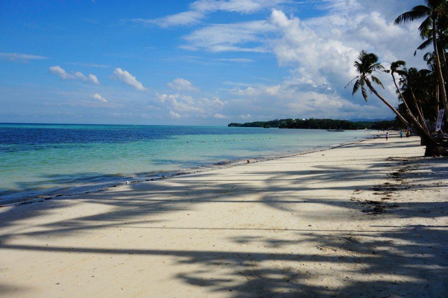 3 - la plage de kite de boracay