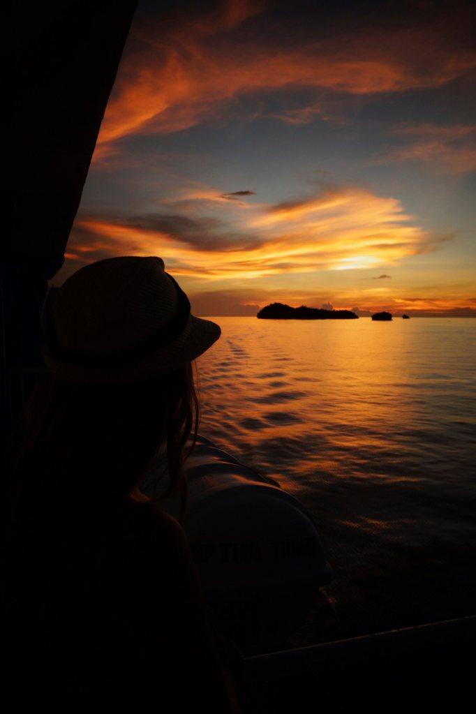 7 - coucher du soleil
