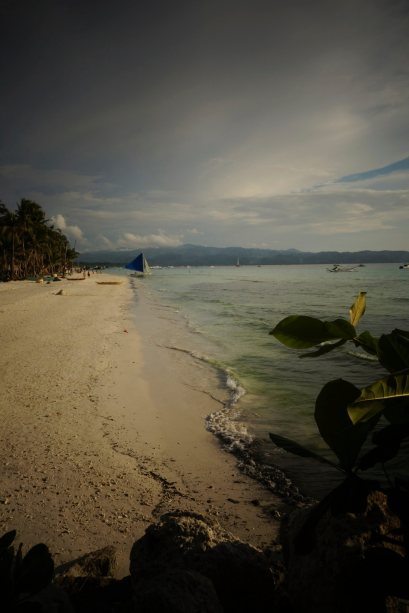 7 - the white beach a boracay, de l'autre cote de l'ile