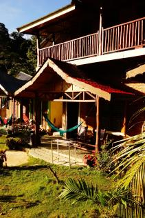 notre hostel at rain forest
