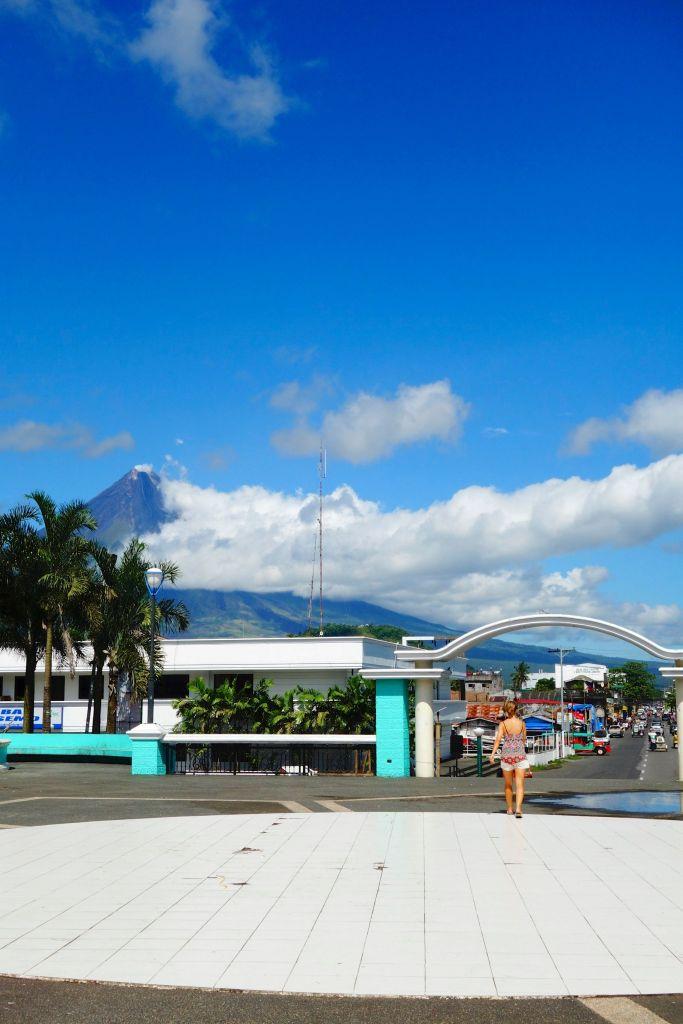 4 - vue sur le volcan Mayon
