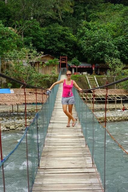 Caro sur le pont