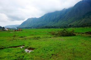 View onto the Samosir island