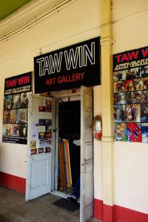 Taw Win, a great art gallery to go