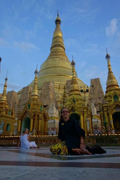 Shwedagon Paya and Caro