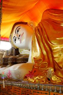 Its older brother, the original Shwethalyaung Buddha