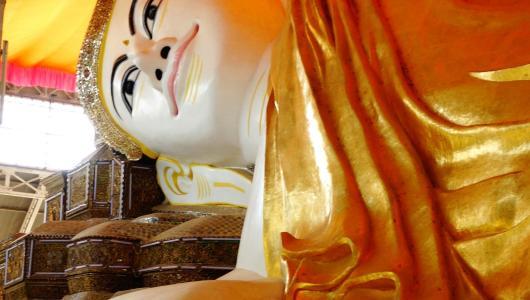 Its older brother, the original Shwethalyaung Buddha