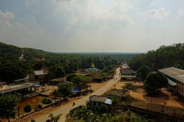 View from the giant buddha