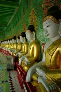 Umin Thounzeh and the 45 Buddhas image
