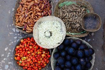 Kalaw market spices