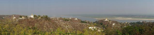 Overview from the Sagaing Hill