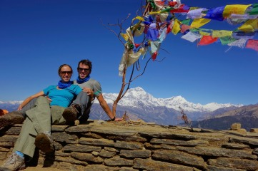 Us at Deurali Pass
