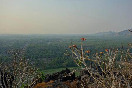 View from the top of Kyauktalon Taung