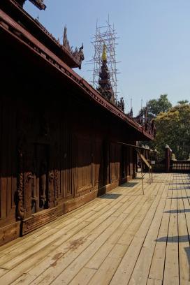 4 - Teak monastery