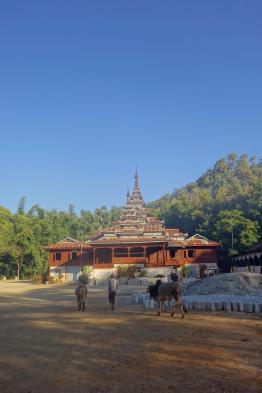 The monastery where we slept