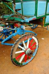 details of the horse cart