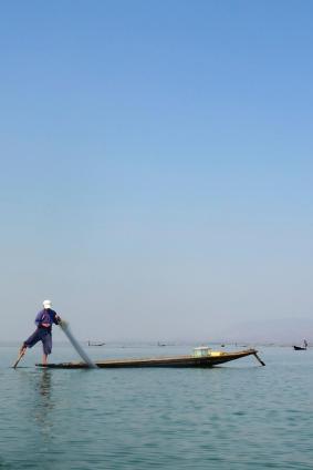 Traditionnal fisherman