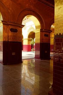 Inside Mahamuni Paya