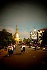 Shwemawdaw Paya street view