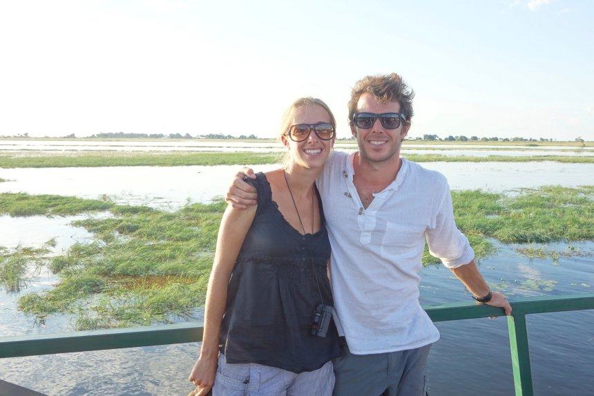 Cruise on Chobe river