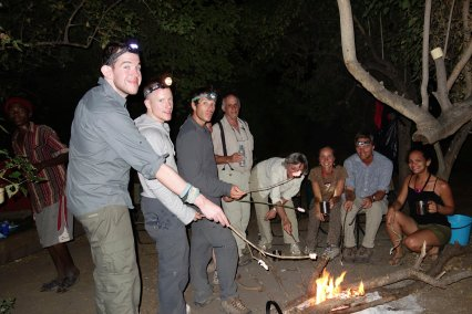 End our Okavango delta with marshmallow