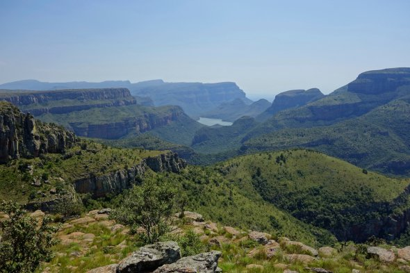 Last view on blyde canyon before going down to sea level and kruger park