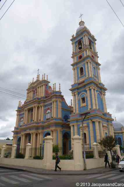 Salta blue church