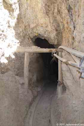 Entrance of the mine