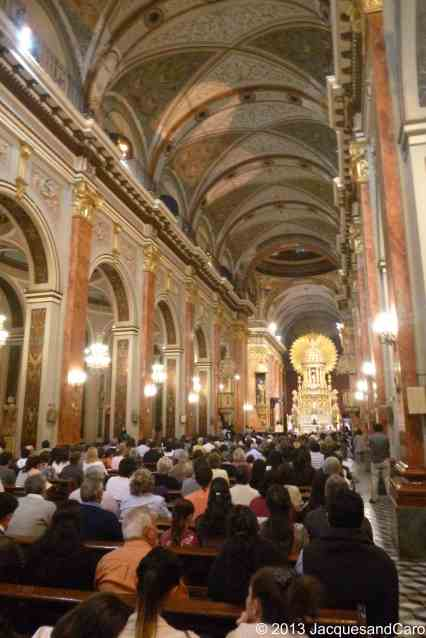 Salta masses are full as opposed to those in europe