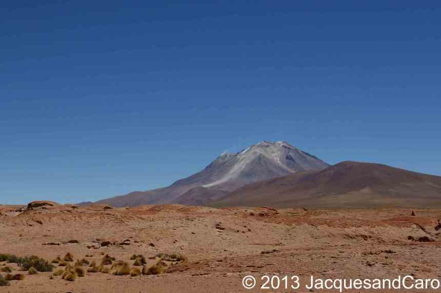 The Ollague volcano