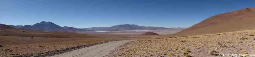 arriving at the laguna colorada