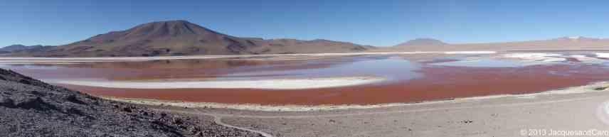 La laguna colorada