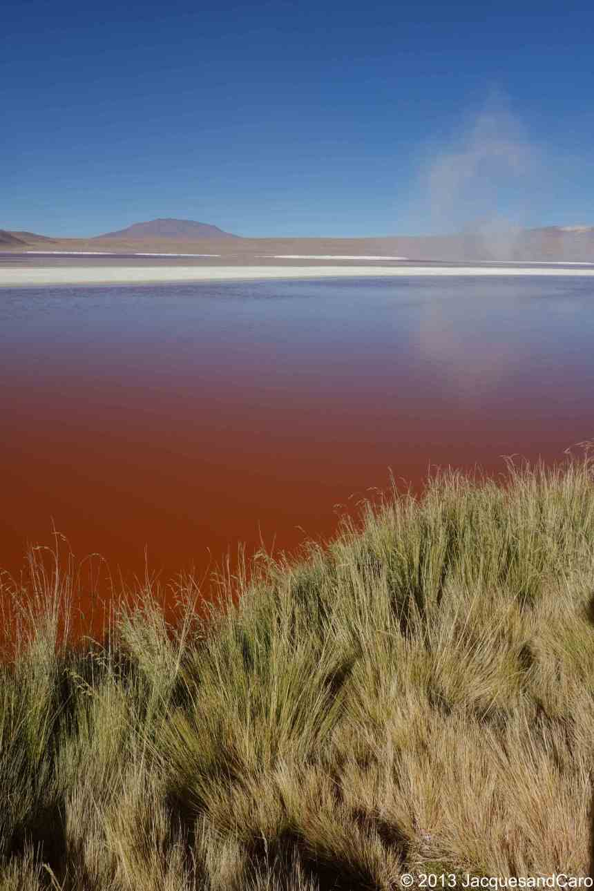 Red, red water