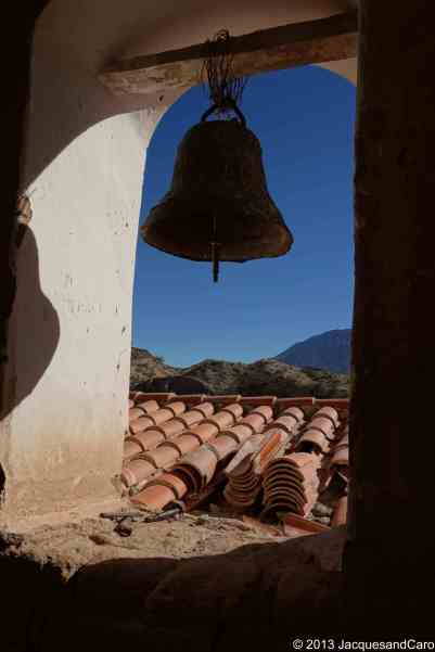 View of the main bell