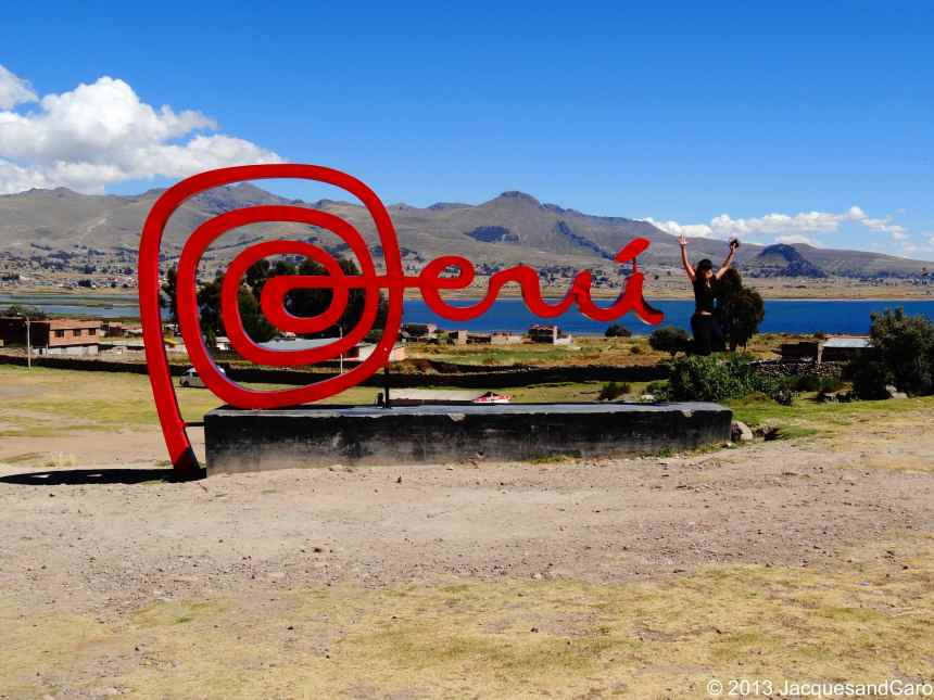 Caroline happy to be in Peru