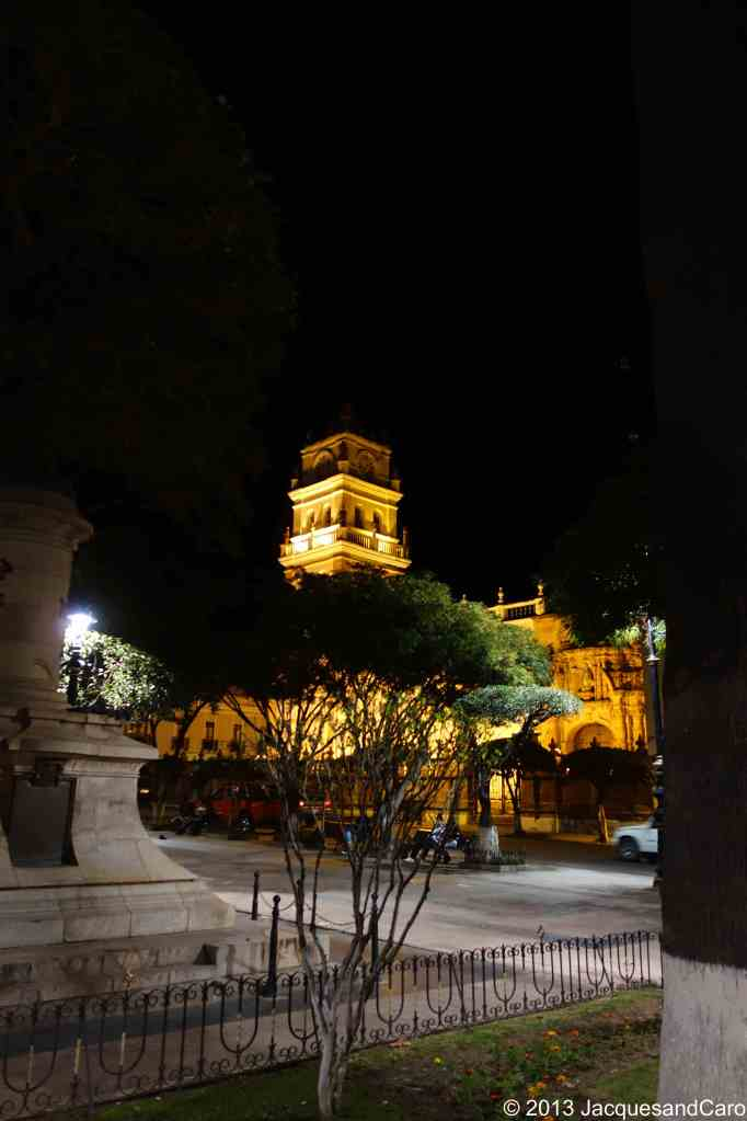 View from the plaza de arm, the main square