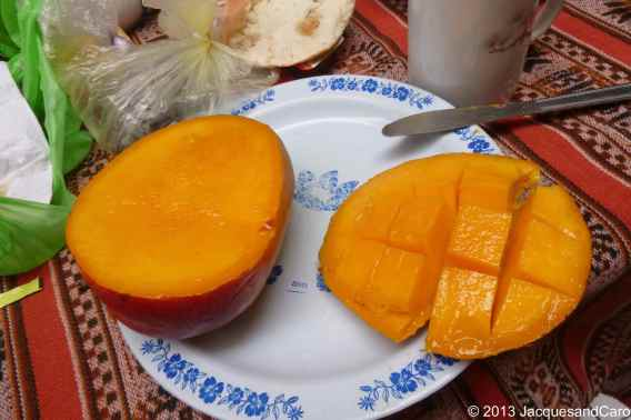 Mango from Peru, the biggest and best..