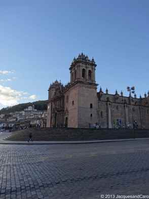 Cusco Cathedral on a different angle
