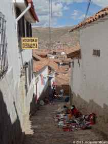 Cusco is not a flat city