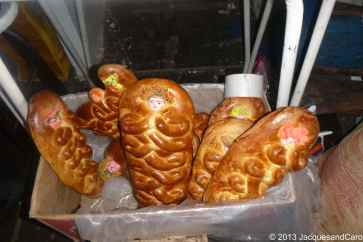 Funky bread or should I say very religious looking bread