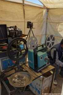 An old movie projector