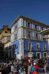 Bolivia and blue building, a love story?