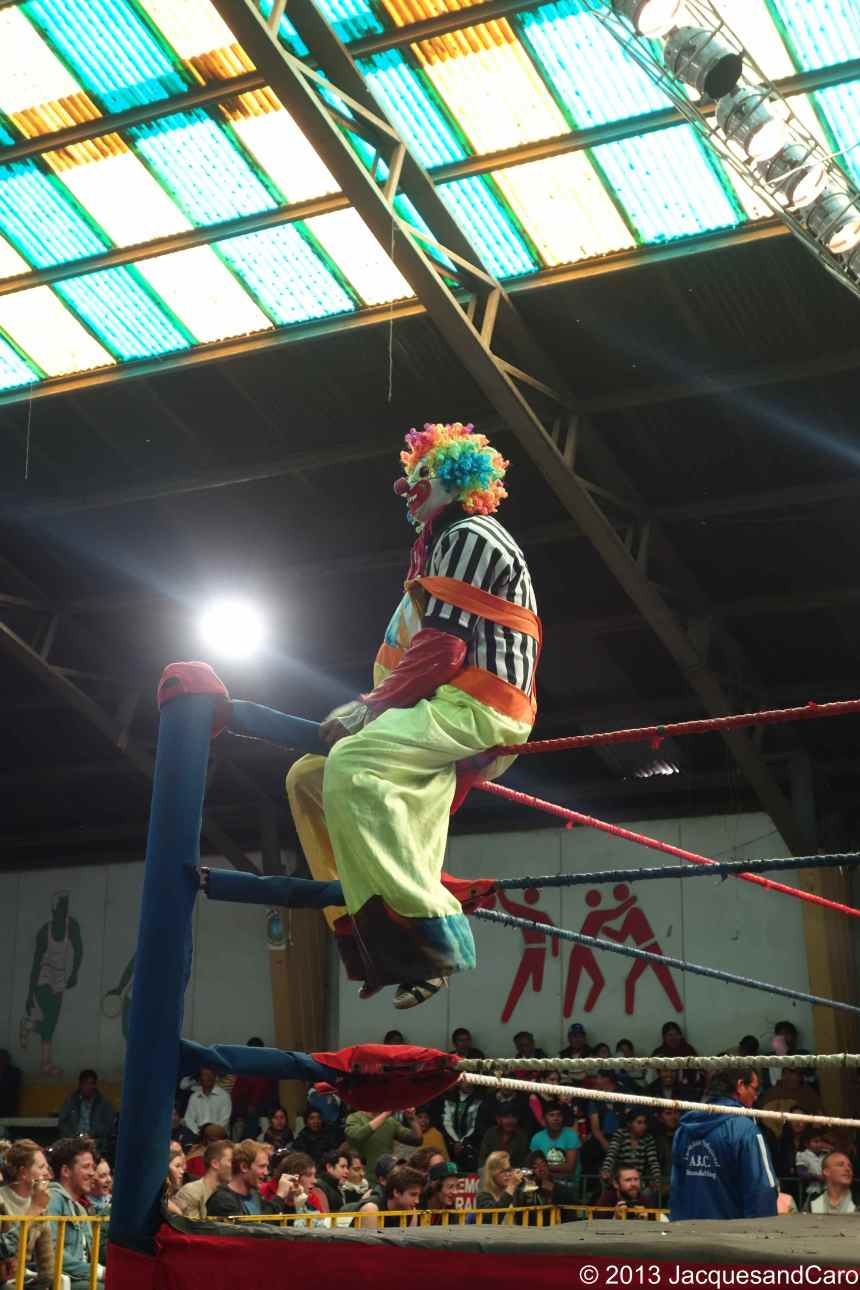 The Clown or Payso Titan who influences the referee