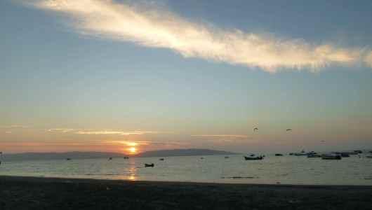Sunset in Paracas