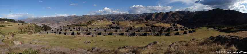 Overview of Saqsaywaman site