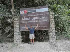 Yeah, we were at Machupicchu