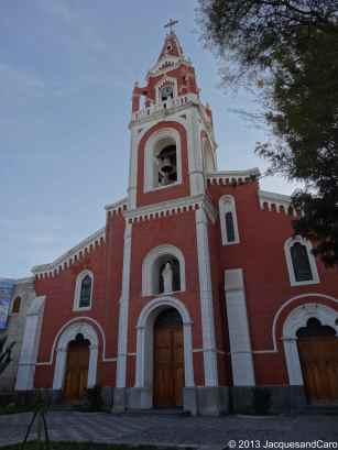 Arequipa church, if you know the name, let me know