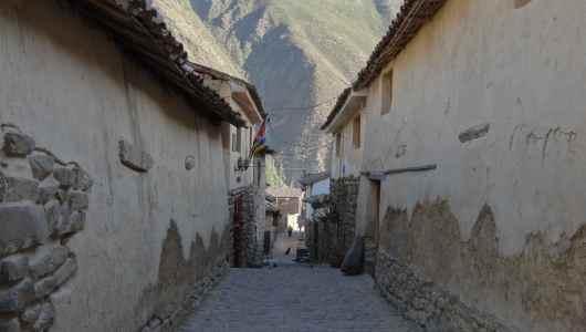 Street of Ollantaytambo