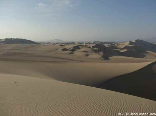 Huacachina Buggy on the sand dune